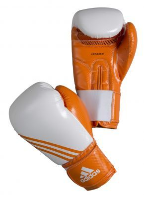Buy the Adidas BOX-FIT Boxing Gloves - Orange online at Fight Outlet