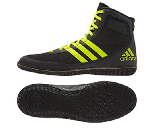 Buy the Adidas Mat Wizard 3 Black online at Fight Outlet