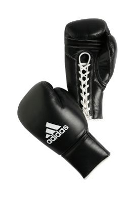 Buy the Adidas Pro Boxing Gloves - Black  online at Fight Outlet
