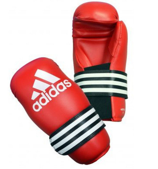 Adidas Semi Contact Gloves, Red