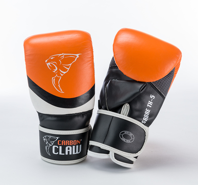 Carbon Claw Sabre TX-5 Bag Mitt Orange/Black