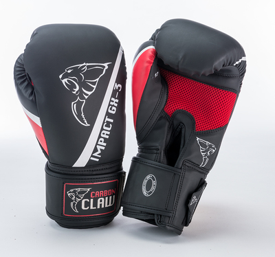 Carbon Claw Impact GX-3 Sparring Glove Black/Red