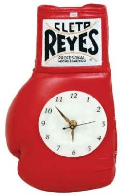 Cleto Reyes Boxing Glove Wall Clock various colours
