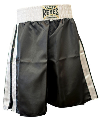 Buy the Cleto Reyes Boxing Shorts Black/White  online at Fight Outlet