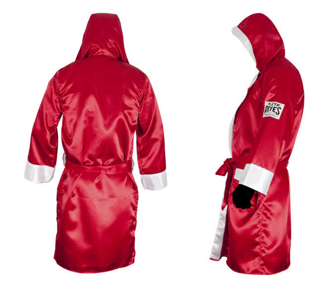 Cleto Reyes Hooded Boxing Robe Red