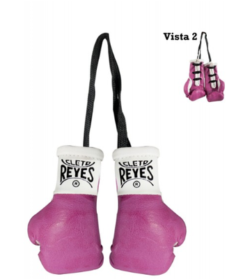 Buy the Cleto Reyes Mini Boxing Gloves Pink  online at Fight Outlet