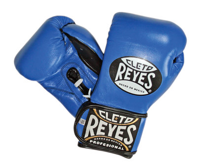 Buy the Cleto Reyes Universal Training Boxing Glove Blue online at Fight Outlet