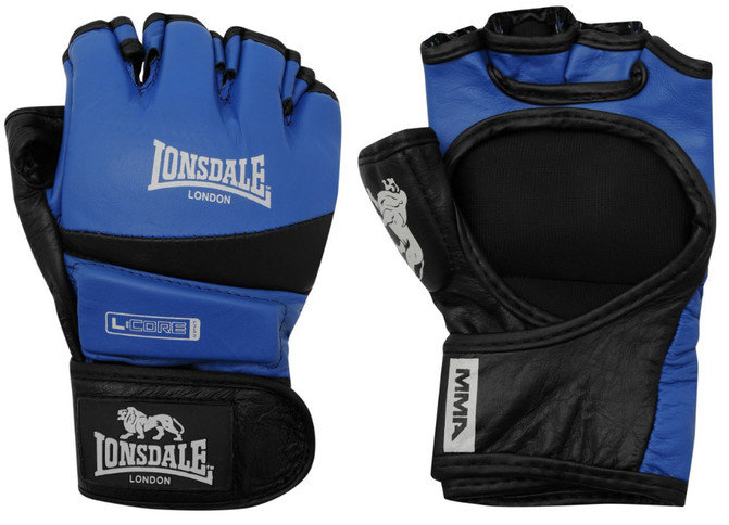 Buy the Lonsdale Amateur MMA Fight Gloves Blue/Black  online at Fight Outlet