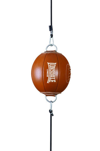 Buy the Lonsdale Authentic Leather Floor to Ceiling Ball online at Fight Outlet