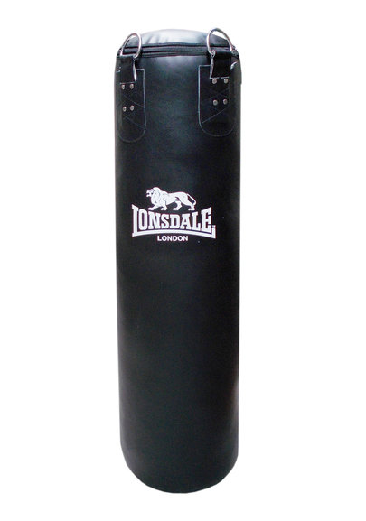 Lonsdale Cruiser Leather Style Punch Bag 4ft
