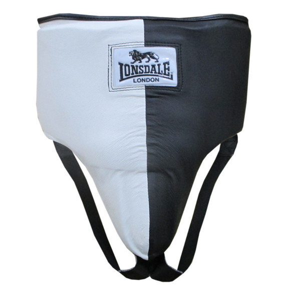 Lonsdale Cruiser No Hip Protector , Black/White Groin Guard