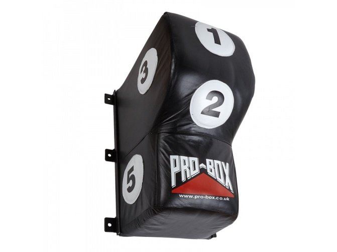 PRO BOX 'BLACK COLLECTION' LEATHER UPPERCUT WALL PAD