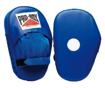 Buy the Pro Box 'BLUE COLLECTION' PU Hook & Jab Pads online at Fight Outlet