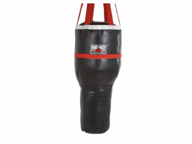 Buy the Pro Box 'Black Collection' Ballistic Angle Bag online at Fight Outlet