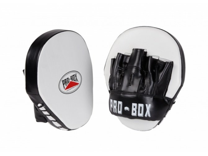 Pro Box Club Essential PU Speed Pads Black/White