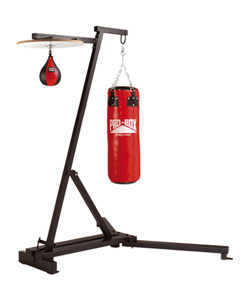 Pro Box Free Standing Punch Bag Frame with Speedball Option