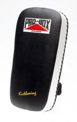 Pro Box Leather Thai Pad Black/White