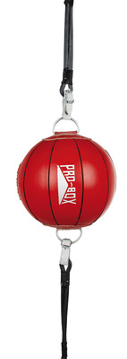 Pro Box 'RED COLLECTION' Leather Floor To Ceiling Ball