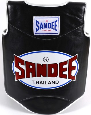 Sandee Authentic Body Shield Synthetic Leather Black/White Kids