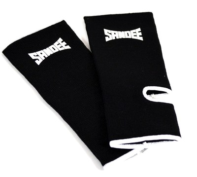 Sandee Premium Ankle Supports Black/White