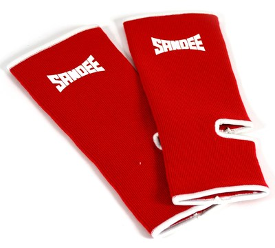 Sandee Premium Ankle Supports Red/White