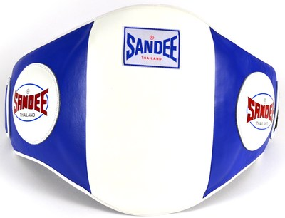 Sandee Velcro Belly Pad - Blue/White
