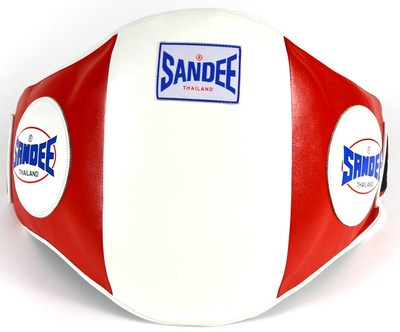 Sandee Velcro Belly Pad Red/White