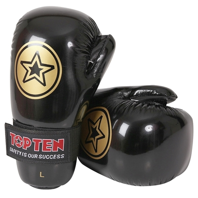 Top Ten Star Pointfighter Gloves Black