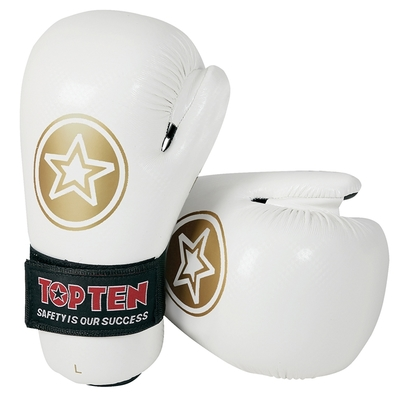 Buy the Top Ten Star Pointfighter Gloves White online at Fight Outlet