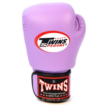 BGVL-3 Twins Lavender Velcro Boxing Gloves