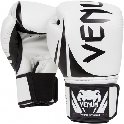 Buy the Venum Challenger 2.0 Adult Boxing Gloves White online at Fight Outlet