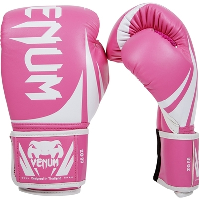 Buy the Venum Challenger 2.0 Boxing Gloves Pink online at Fight Outlet