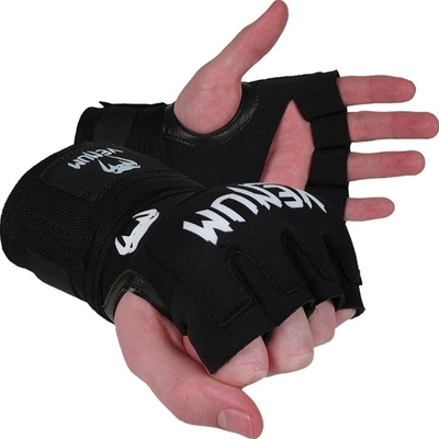 Buy the Venum Kontact Gel Wrap Adult Hand Wraps Black online at Fight Outlet