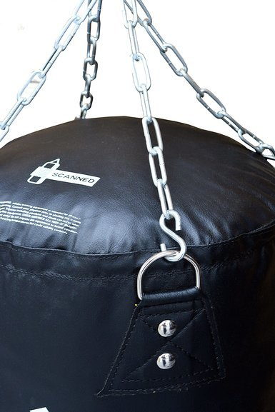 Adidas Fitness Kick/Punch FAT Punch Bag Black 4ft and 5ft