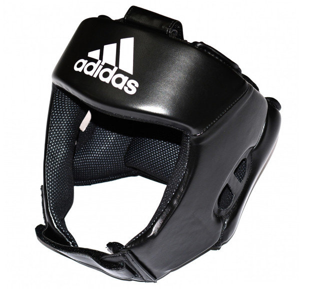 Buy the Adidas AIBA Style Training Head Guard Black online at Fight Outlet