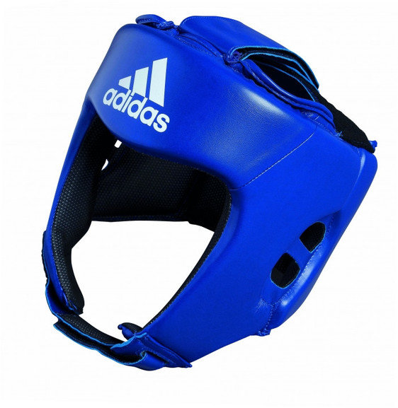 Adidas AIBA Style Training Head Guard Blue