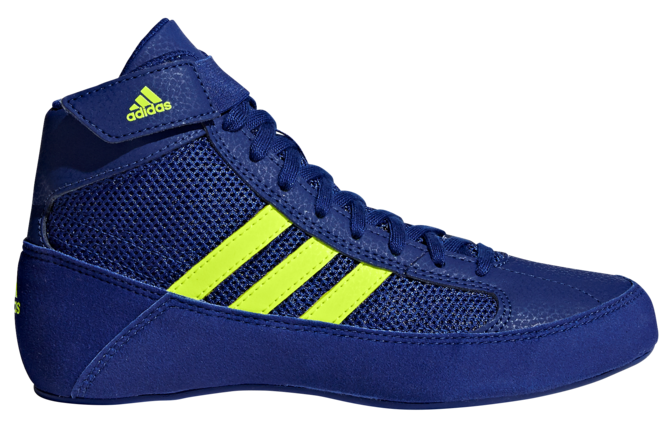 Adidas Havoc Kids Lace Boxing Boot Mystery Ink/Yellow