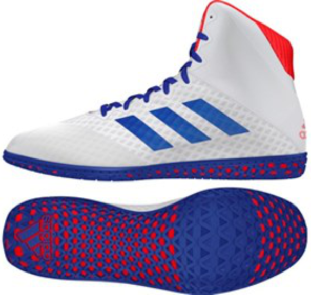 Adidas Mat Wizard 4 Ring Boot White