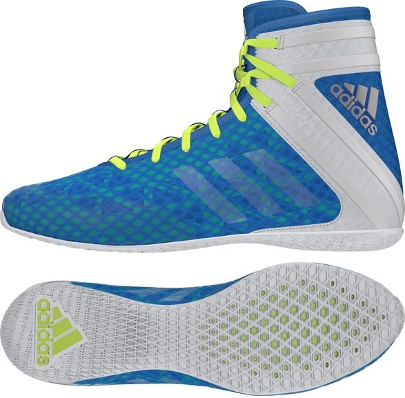 Buy the Adidas Speedex 16.1 Boxing Boots Shock Blue online at Fight Outlet
