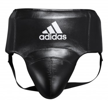 Buy the Adidas AdiStar Pro Black/White Groin Guard online at Fight Outlet