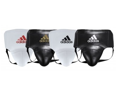 Adidas AdiStar Pro White/Red Groin Guard