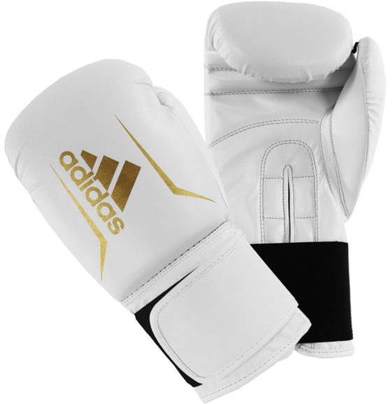 Adidas Speed 50 Boxing Gloves White/Gold