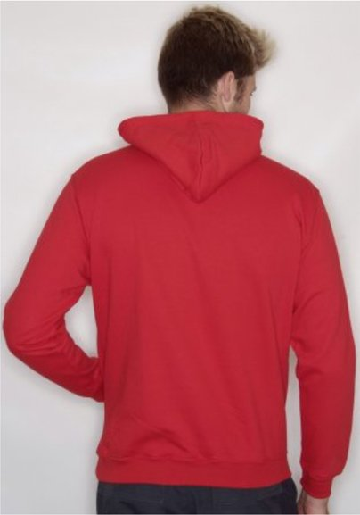 ST.HELENS Striders HOODY with embroidered chest badge only, Plain Back. Junior & Mens