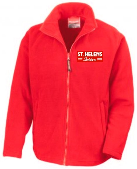 Buy the ST.HELENS Striders MICRO FLEECE JACKET MENS online at Fight Outlet