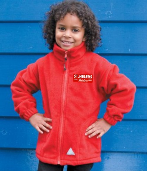 Buy the ST.HELENS Striders POLARTHERM FLEECE JACKET Kids/Youths online at Fight Outlet