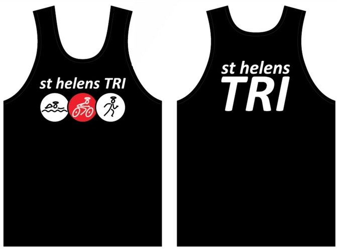 st helens TRI JUNIOR BOYS TECHNICAL RUNNING VEST