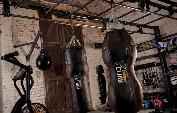 CARBON CLAW RECOIL RB-7 PUNCHBAG 4FT X 14″ LEATHER 35kg