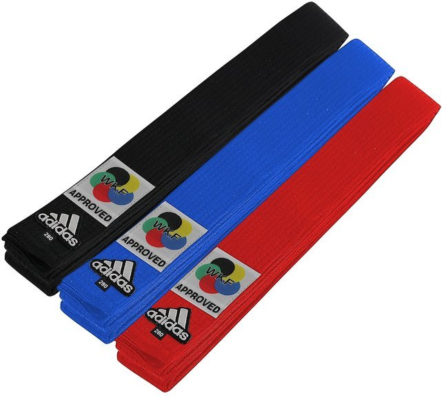Buy the Adidas WKF Karate Belts online at Fight Outlet