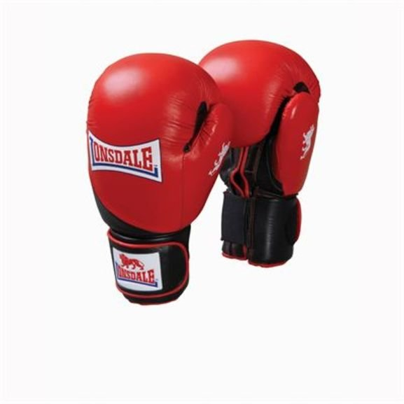Lonsdale Junior Safe Spar Boxing Gloves Red