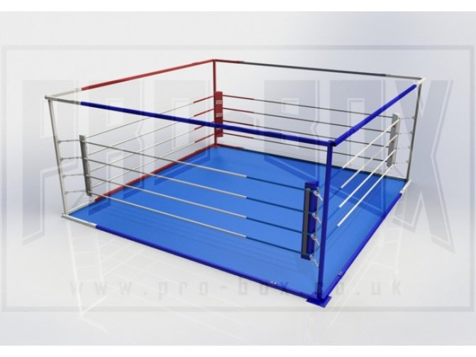 PRO BOX CLUB QUICK ASSEMBLY FREE STANDING RING - WITH MATS
